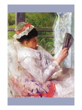 Reading Mrs (Lydia Cassatt) By Cassatt