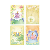 Tea Time Critters Four Patch