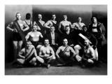 Team of Champion Russian Wrestlers