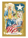 Washington Adopting a Five Pointed Star