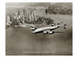 Lockheed Constellation  New York 1950