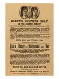 Glenn's Sulphur Soap Is The Leading Remedy