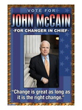 McCain  Change is Great