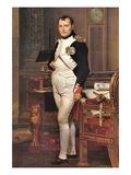 Portrait of Napoleon In His Work Room