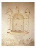 Empty Niche in Church Wall