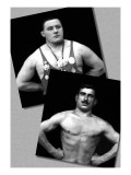 Two Bodybuilding Champions