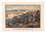 US Army  Field Batteries  Malvern Hill  1862