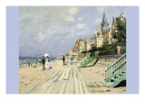 Beach At Trouville