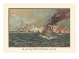 Naval Battle of Santiago  July 3rd  1898