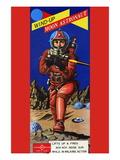 Wind-Up Moon Astronaut