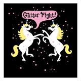 Unicorn Glitter Fight