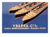 Ybarra and Company Mediterranean-Brazil-Plata Cruise Line