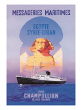 Messageries Maritimes Egypt-Syria-Lebanon Cruise Line