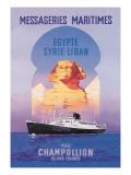 Messageries Maritimes Egypt-Syria-Lebanon Cruise Line
