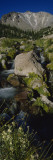Water Flowing through Rocks  Lost Creek  Lassen Volcanic National Park  California  USA