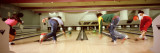 Youths in Bowling Alley  USA
