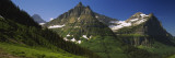Logan Pass  US Glacier National Park  Montana  USA