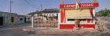Rio Lagartos  House and Food Stand  Yucatan  Mexico