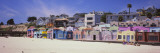 Houses on the Beach  Capitola  Santa Cruz  California  USA