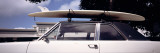 Surf Board on Roof of Car  California  USA