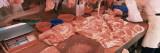 Raw Meat in a Butcher Shop  Wanchai  Hong Kong  China