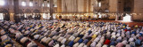 Crowd Praying in a Mosque  Suleymanie Mosque  Istanbul  Turkey
