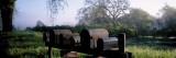Mailboxes in a Garden  Napa Valley  California  USA