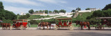 Horse Carts Outside a Building  Mackinac Island  Mackinac County  Michigan  USA