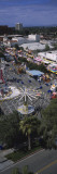 High Angle View of a Carnival  Riverside  California  USA