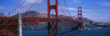 Bridge Across a River  Golden Gate Bridge  San Francisco  California  USA