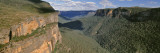 Panoramic View of Valley  Blue Mountains National Park  Australia