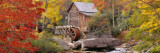 Hut in a Forest  St Park  Glade Creek Grist Mill Babcock  West Virginia  USA