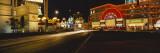 Buildings Lit Up at Night  Las Vegas  Nevada  USA
