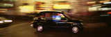 Black Cab in the Night  London  England