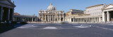 Facade of a Church  St Peter's Basilica  St Peter's Square  Vatican City  Italy