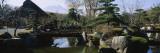 Footbridge in a Garden  Japanese Garden  Oshino  Japan