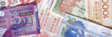 Close-Up of Hong Kong Dollar Notes