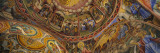 Fresco on the Ceiling of a Monastery  Rila Monastery  Bulgaria