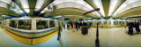 People at a Subway Station  Bart Station  San Francisco  California  USA