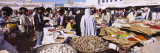 People Shopping in a Market  Douz  Tunisia