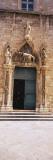 Monk Standing at the Door  Placa Stradun  Dubrovnik  Croatia