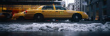 Yellow Taxies on the Street  New York  USA