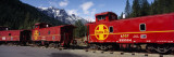 Santa Fe Railroad  Shasta-Trinity National Forest  California  USA