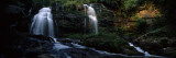 Waterfall in a Forest  Long Creek Falls  Chattooga River  South Carolina  USA