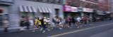People Running in New York City Marathon  Manhattan Avenue  Greenpoint  Brooklyn  New York City