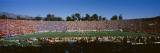 High Angle View of Spectators in a Stadium  Rose Bowl Stadium  Pasadena  Los Angeles County