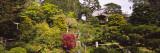 Cottage in a Park  Japanese Tea Garden  Golden Gate Park  San Francisco  California  USA