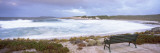 View of a Bench on the Beach  Salmon Beach  Esperance  Western Australia  Australia