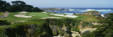 High Angle View of a Golf Course  Cypress Point Golf Course  Pebble Beach  California  USA