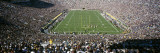 Aerial View of a Football Stadium  Notre Dame Stadium  Notre Dame  Indiana  USA